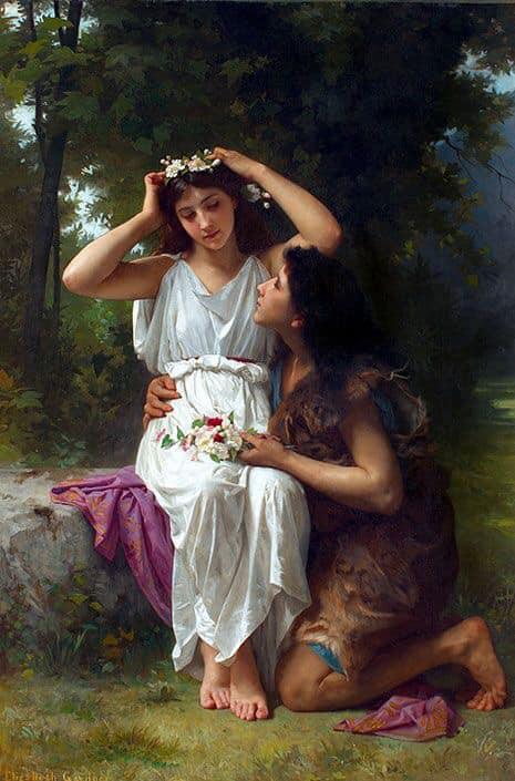 Daphnis and Chloe, 1882